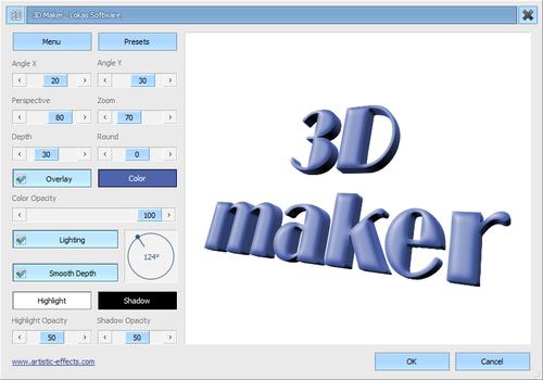 3d Maker Photoshop Plugin Lokas Software