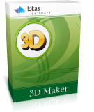 Photoshop plugins: 3D Maker