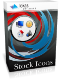 Stock icons: royalty-free icons